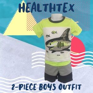 ♥️🆕 HealthTex 2 Pc. Toddler Boys Short Set